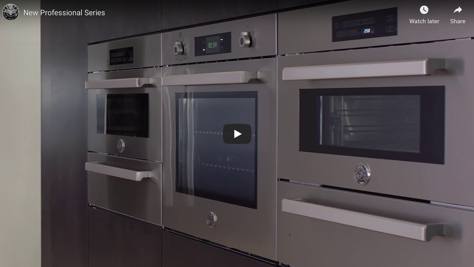 A new line of built-in appliances